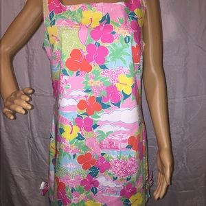 "Lilly Pulitzer ""Tahiti"" Dress- Bow Detailing"